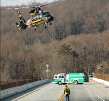 trooper landing angled