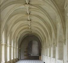 Abbaye le Fontevraud - Cloister Interior