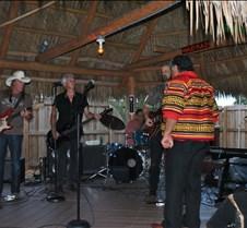 Raiford Starke Band with james Billie sittin in