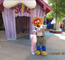 Jaxy with Woody Woodpecker