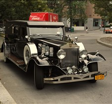 Upper Manhattan Auto Show Preview Classic cars on display during Harlem Week