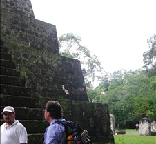 Cesar and Lou at Tikal