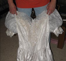 February 07, 2006 Heathers Wedding Dress