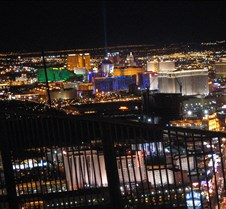 Las Vegas strip view from Stratosphere