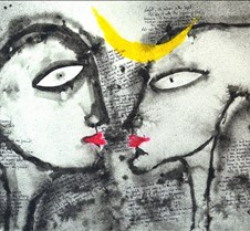 Modern Indian Paintings by Camelliasuman Indian contemporary art gallery featuring complete collection of modern Indian paintings by Indian artist Camelliasuman.