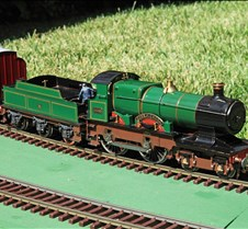 Pete Comely's City of Truro 4-4-0 Loco
