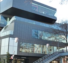 Chanel and Bulgari on Omotesando