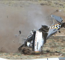 Thunder Mustang #75 Air Race Crash 461a