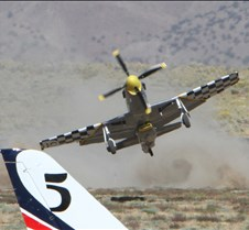 Thunder Mustang #75 Air Race Crash 452b