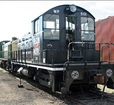 WP-501 - EMD SW-1 Locomotive