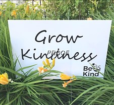 Grow Kindness signs