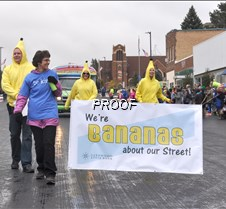 Bananas about street