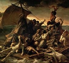 La Balsa de la Medusa - Jean-Louis Théod