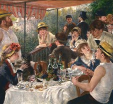 Luncheon of the Boating Party - Pierre-A