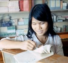 Vietnamese Shop Clerk