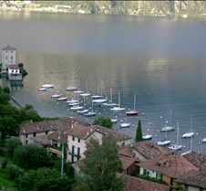 Boats in Lake Como