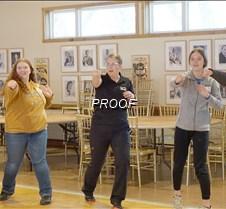 Amber Wasiloski teaches self defense