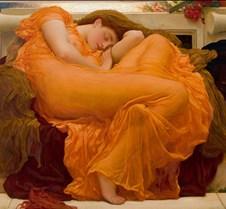 Flaming June-Frederic Leighton
