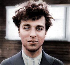 Charlie Chaplin at 27 years old, 1916