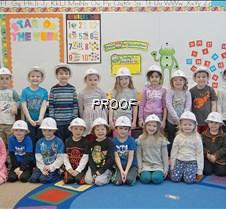 Preschool hard hats, Miss Sara's class