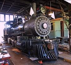 Sierra Railway #3 in Roundhouse