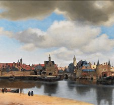 View of Delft - Jan Vermeer -1660 - Maur