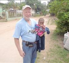 Grant and Honduran baby