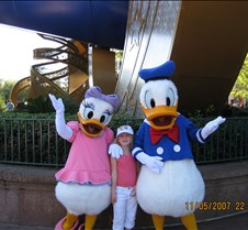 Jaxy with Daisy & Donald