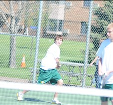 Pierre Tennis Triangular Pierre boys' tennis vs. Aberdeen Roncalli