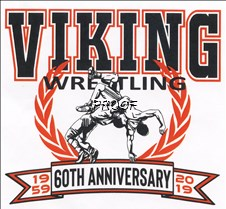 Wrestling - 60th logo