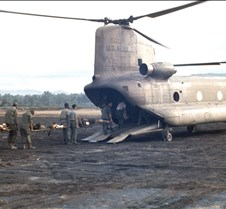 CH-47 Chinook Medivac Helicopter