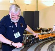 Gary Woolard Fires His Live Steam Loco