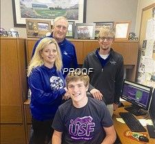 Cole Harste Signs Letter of Intent