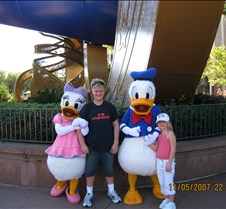 Tyler & Jaxy with Daisy & Donald
