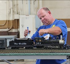 Craig Griffin Adds Water To His Loco