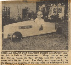 winner of soap box derby