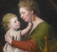Portrait of Jane Darwin and Son-Joseph W
