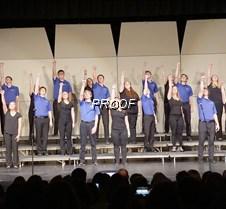 Jazz choir rock on
