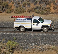"Rail Truck ""Bronco"" Near Clio Trestle"