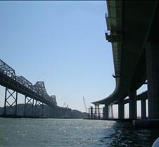 Space where the Suspension Bridge will G