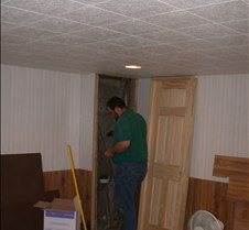 Basement  rebuilding 9.07.2004 012