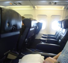BA 554 - Empty Seats