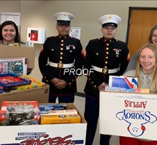 holiday Toys for Tots 2019 Marines