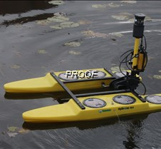 dam remote boat closeup