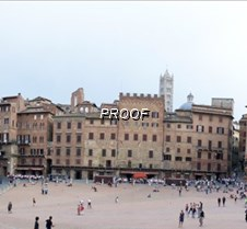 Panoramic of Main Piazza