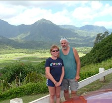 Hanalei Valley lookout