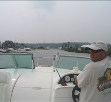 Heading into Herrington Harbor