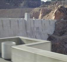 Hoover Dam overflow spillway