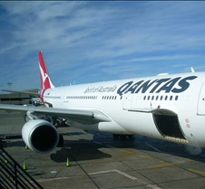 Qantas A330 at LAX