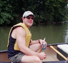 Canoeing on Shenandoah River